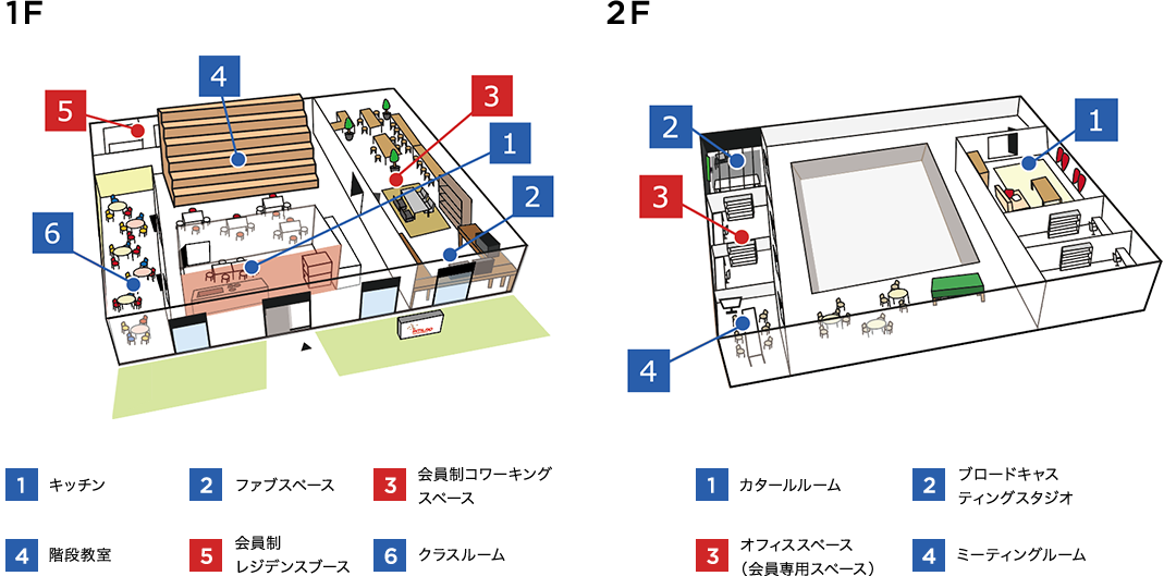 施設内地図