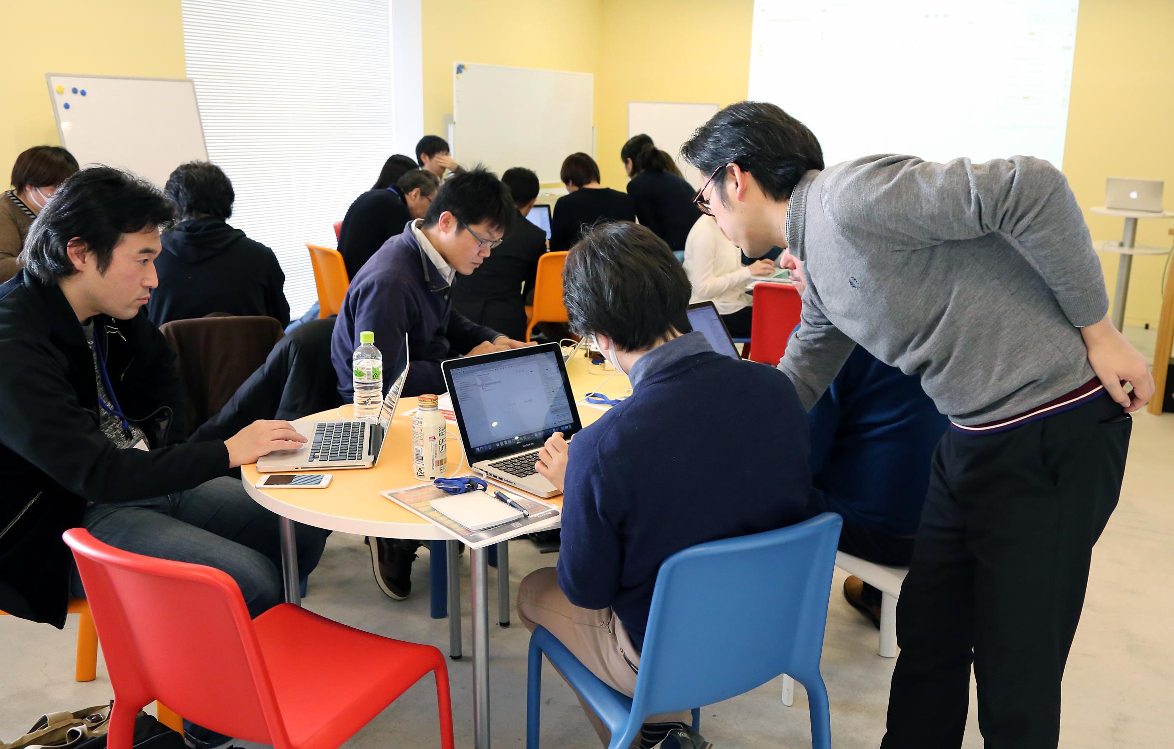【イベントレポート】ゼロからのアプリ開発ブートキャンプがスタート!