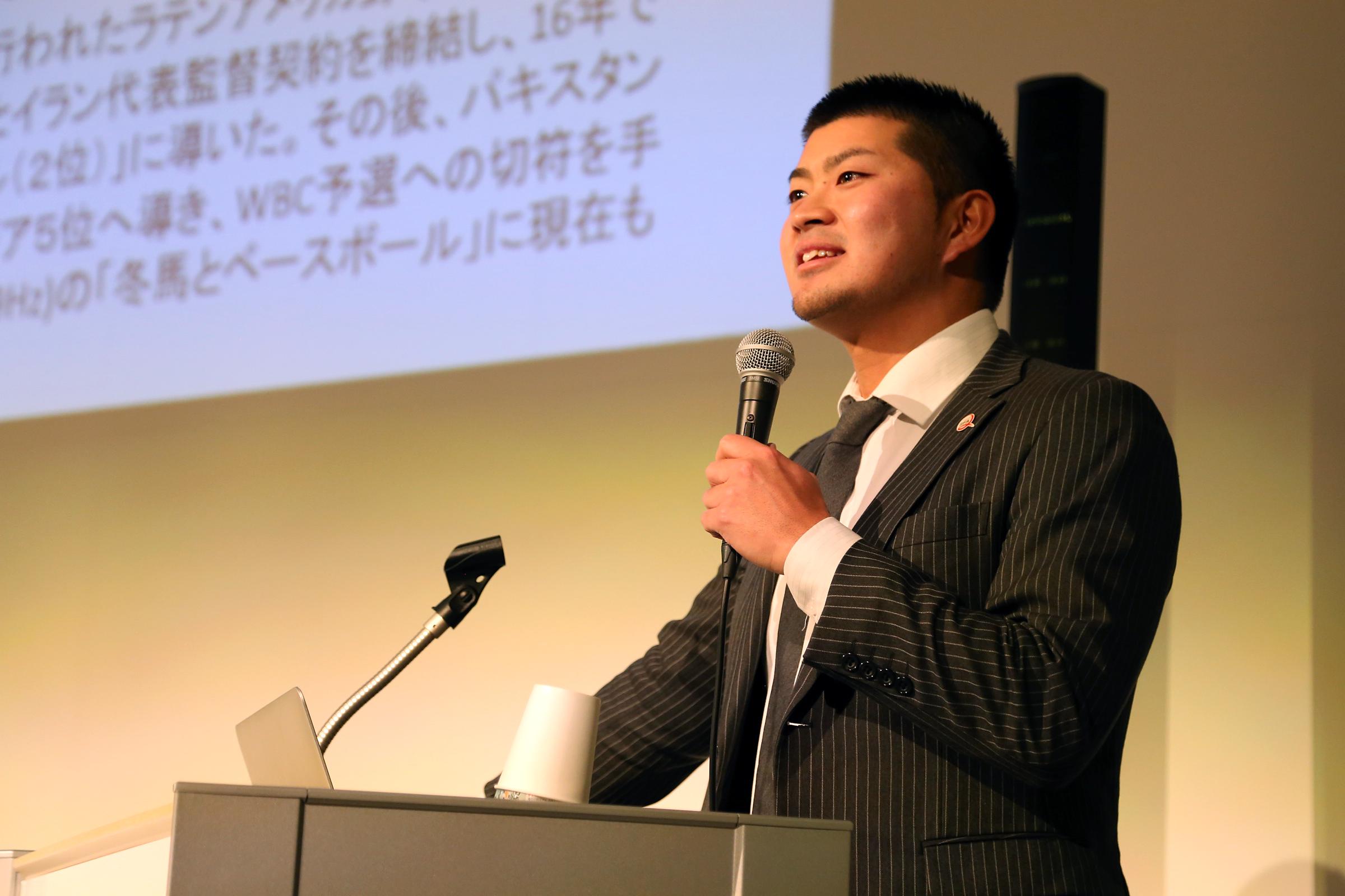 【イベントレポート】ハウスレクチャーシリーズvol.15「アジア各国の野球代表監督・色川冬馬の挑戦」を開催しました